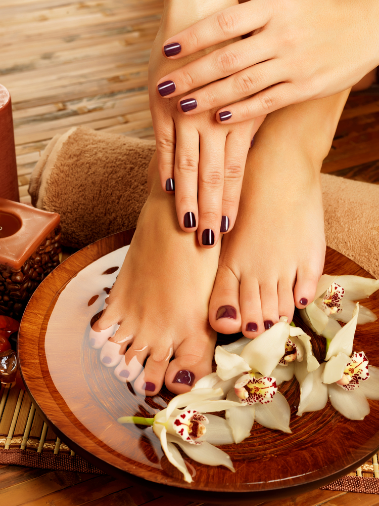 Manicures and Pedicures at the Palace Pier Spa